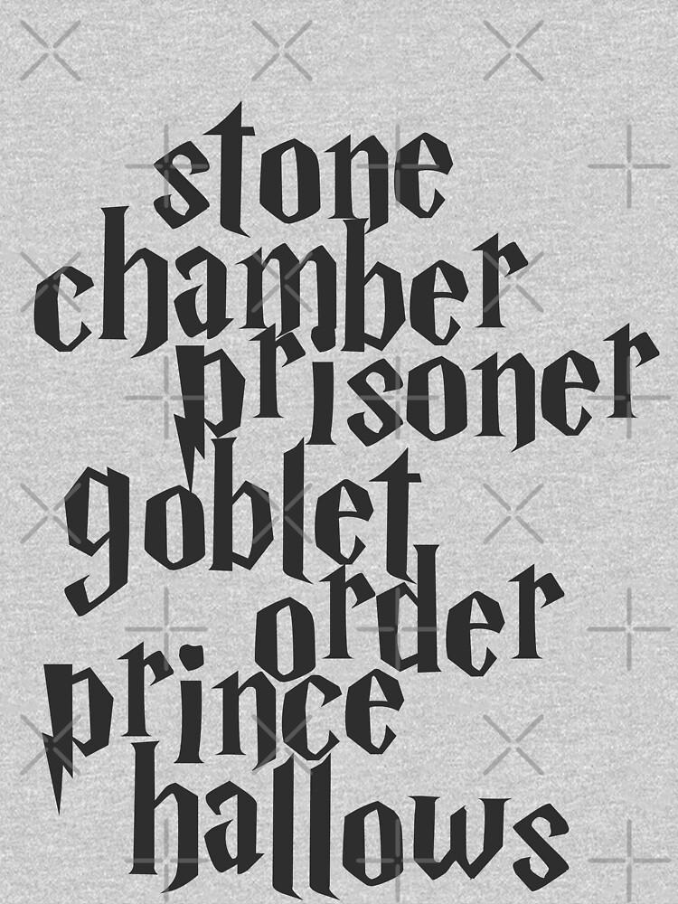 Stone Chamber Prisoner Goblet Order Prince Hallows | Unisex T-Shirt