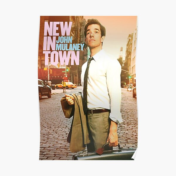 the city john mulaney evening Poster