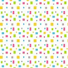 Color round cubes background by Alejandro Durán Fuentes