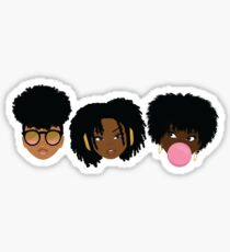 3 Wise Naturalistas Sticker