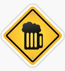 beer sign Sticker
