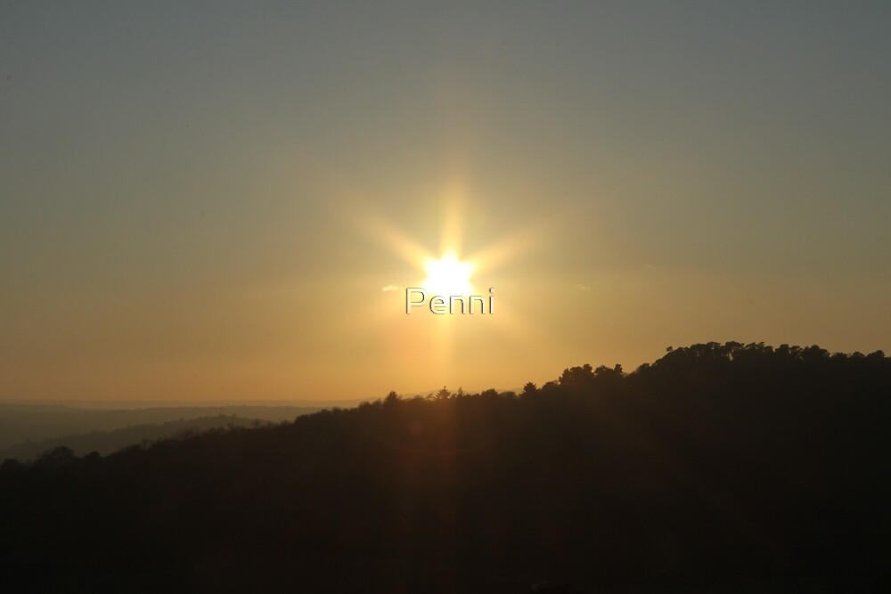 Beams & Rays  by Penni