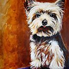 Yorkie by Susan McKenzie Bergstrom