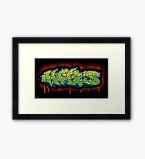 Graff Hype Framed Print