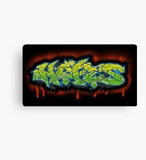 Graff Hype Canvas Print