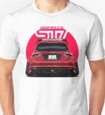 Speedhunters - RED Subaru Impreza WRX STI Unisex T-Shirt