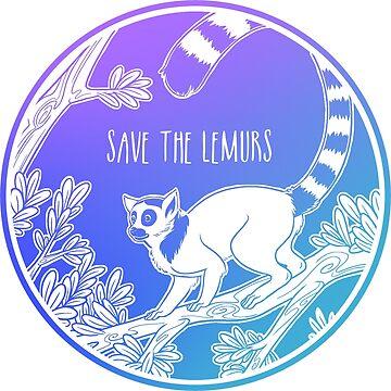 ¡Salva a los lémures! de Chikagi