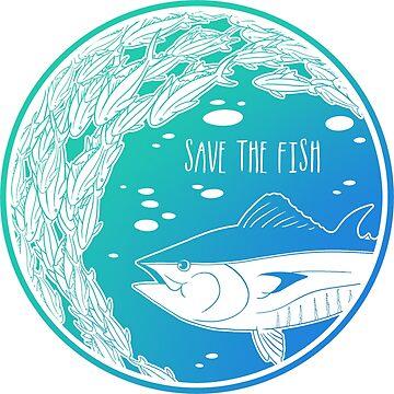 ¡Salva a los peces! de Chikagi