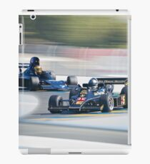 Vintage Formula One Racecars 'F1 Competition' iPad Case/Skin