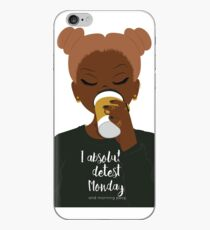 I Absolutely Detest Mondays iPhone Case
