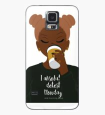 I Absolutely Detest Mondays Case/Skin for Samsung Galaxy