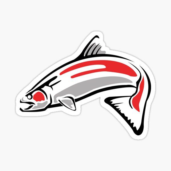 Chinook Salmon - Updated - NootkaSound.com Sticker