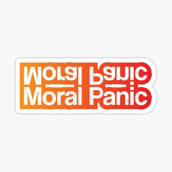 Nichts als Diebe - Moralische Panik Sticker