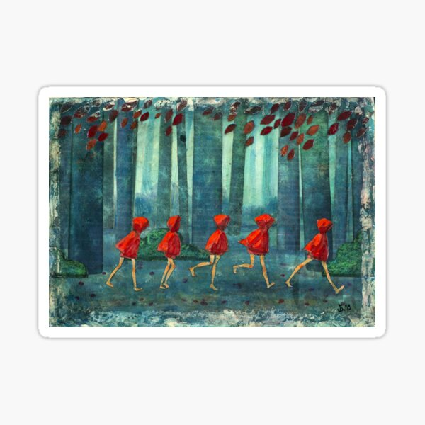 5 lil reds 1 Sticker