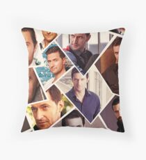 Richard Armitage Throw Pillow
