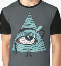Illuminati Are Baked Graphic T-Shirt