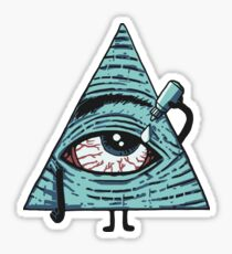 Pegatina Los Illuminati son horneados