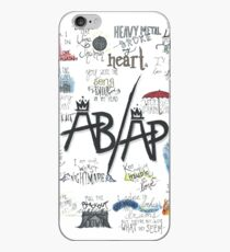 Fall Out Boy Lyric Art iPhone Case