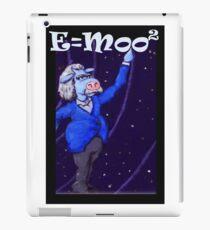 E=moo2 iPad Case/Skin