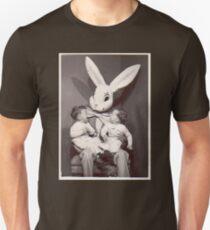 Gruseliger Osterhase Unisex T-Shirt