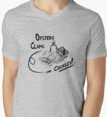 Game of Thrones - Oysters, clams, and cockles V-Neck T-Shirt