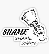 Game of Thrones - Walk of Shame Sticker