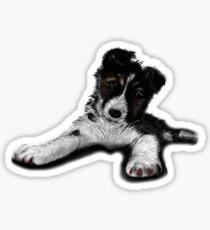 Skye Old English Sheepdog Husky  Sticker