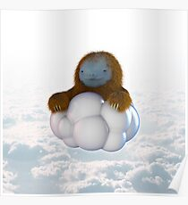 cloud sloth Poster