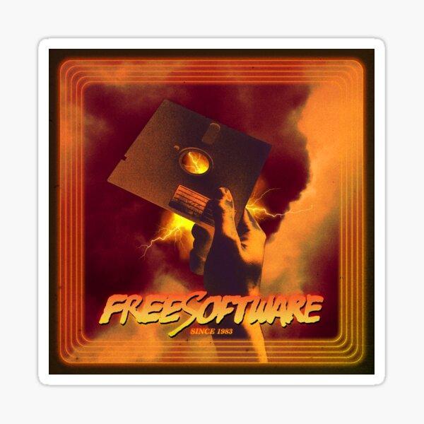 Free Software since 1983 Sticker