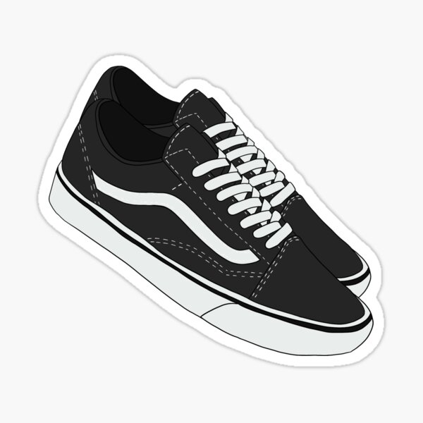 Vans Shoes Stickers | Redbubble