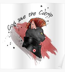 """God save the catnip"" Poster"