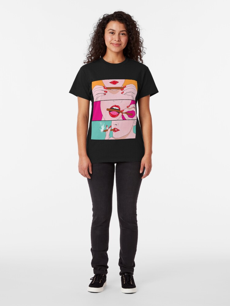 Alternate view of weed lady  Classic T-Shirt
