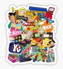 90's Life  Sticker