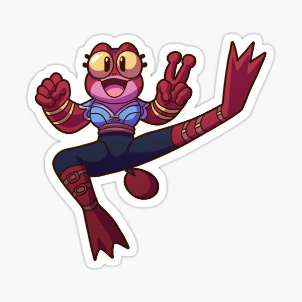 Frog Mage - DungeonDelvers Sticker