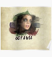 Octavia - The 100 - Brush Poster