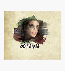 Octavia - The 100 - Brush Photographic Print