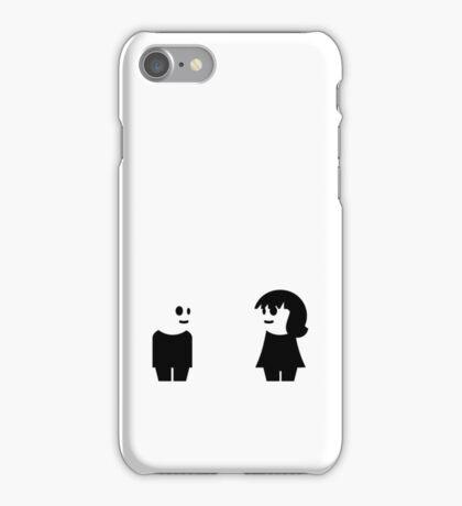 Goth Couple VRS2 iPhone Case/Skin