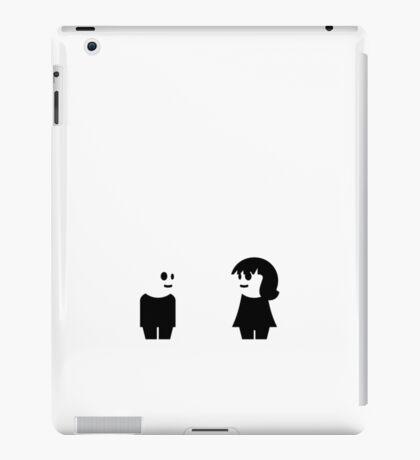 Goth Couple VRS2 iPad Case/Skin