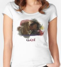 Clexa - The 100 - Brush Kiss Women's Fitted Scoop T-Shirt
