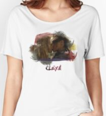 Clexa - The 100 - Brush Kiss Women's Relaxed Fit T-Shirt