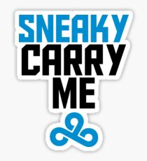 Sneaky Carry me C9 Sticker