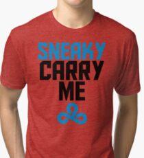 Sneaky Carry me C9 Tri-blend T-Shirt