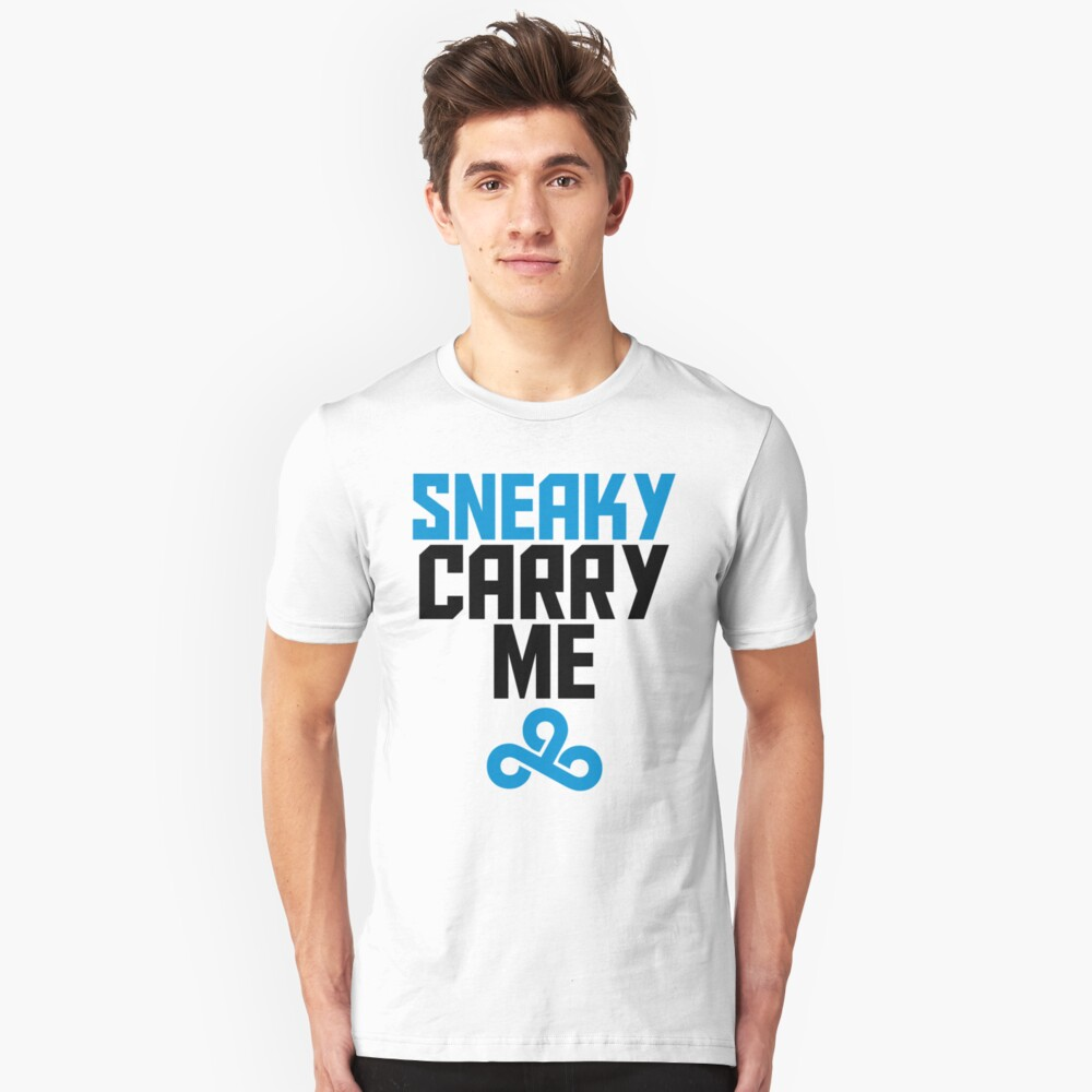 Sneaky Carry me C9 Unisex T-Shirt Front