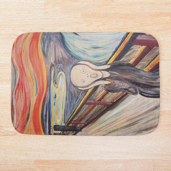 El grito (Edwrad Munch) Alfombra de baño