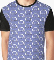 Blue Bernie Head  Graphic T-Shirt