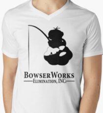 Bowser Works Men's V-Neck T-Shirt