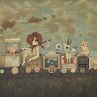 Transient Railways by WhiteStagArt
