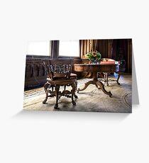 Penrhyn castle- Room  32 Greeting Card