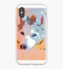 Husky in Watercolors - Private Collection iPhone Case