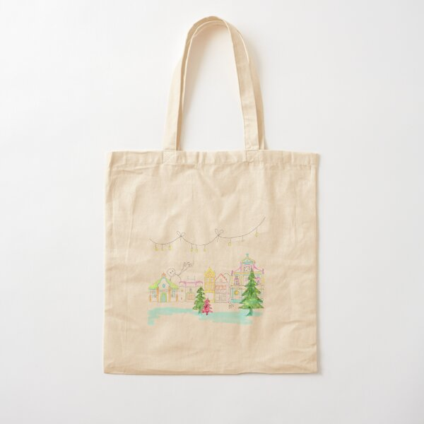 I love Sittard with Christmas Cotton Tote Bag